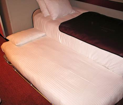 Carnival Sunshine (SH) Trundle Beds and Cribs